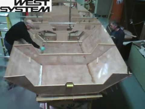 Time Lapse: i550 Sport Boat built with WEST SYSTEM Epoxy ...