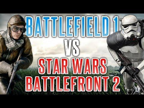 Battlefield 1 VS Star Wars Battlefront 2