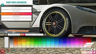 Forza Horizon 4: NEW WHEEL CUSTOMIZATION UPDATE GAMEPLAY! Caliper Paint Confirmed!!