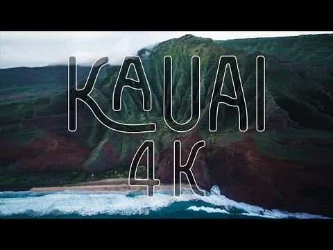 Kauai, Hawaii - Incredible 4K Drone Footage