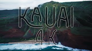 Kauai, Hawaii - Incredible 4K Drone Footage