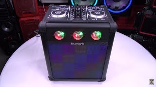 Numark Party Mix Pro – DJ Controller With Built-In Sound Reactive Light Show
