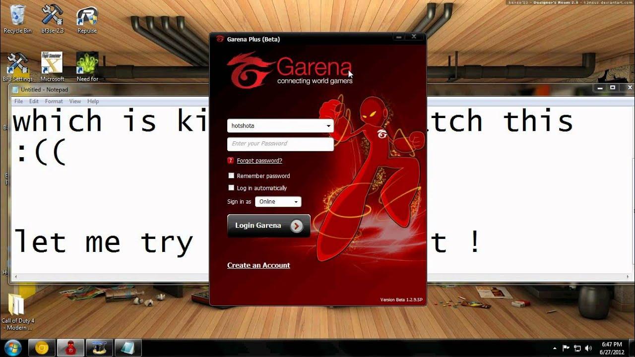 ошибка подключения к серверу гарена
