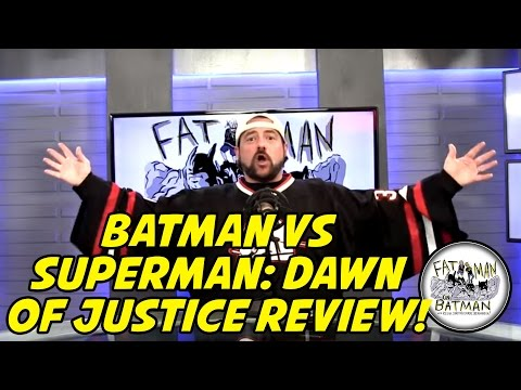 KEVIN SMITH'S REVIEW OF DAWN OF JUSTICE! - FAT MAN ON BATMAN 035