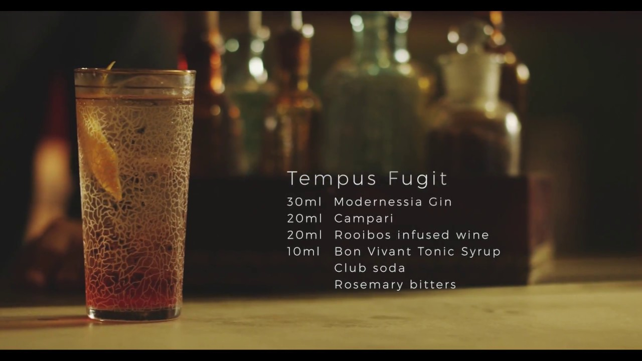 THE CRAFTMASTERS SERIES (VIDEO 3). COCKTAIL: Tempus Fugit. BARTENDER: Alberto Pizarro