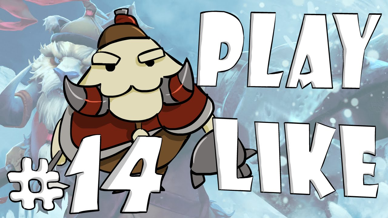 14 play like tusk dota 2 animation youtube