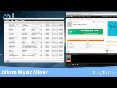 Jaksta Music Miner - MacUpdate Promo Screencast