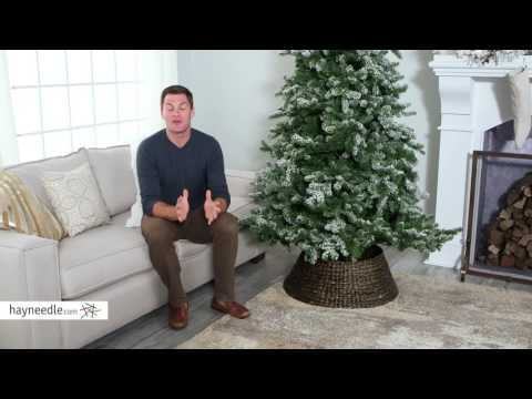 Belham Living Classic Thick Woven Dark Brown Tree Collar - Product Review Video