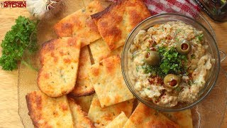 Baba Ganoush & Keto Fathead Crackers (Eggless) | Keto Recipes | Headbanger's Kitchen