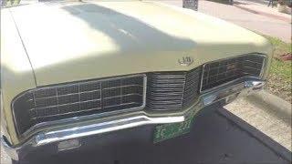1970 Ford LTD Two Door Hardtop Yel DaytonaRiverside102817
