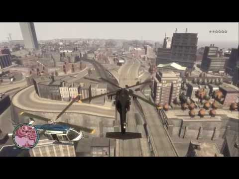 GTA IV- How Can Steal A Police Helicopter