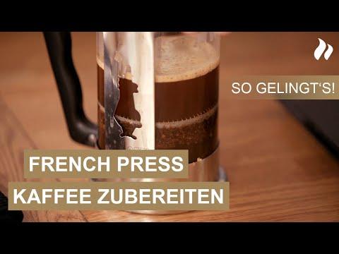Kaffeezubereitung mit der