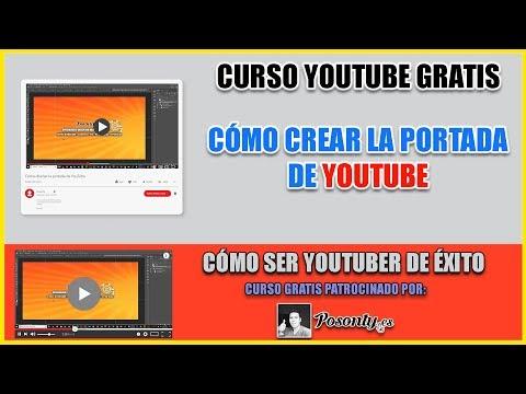 Plantilla Psd De Laportada Para Youtubecon Medidas