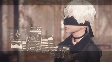 Let's Play NieR Automata - S8 P1 - We 9S models are the best around, you know