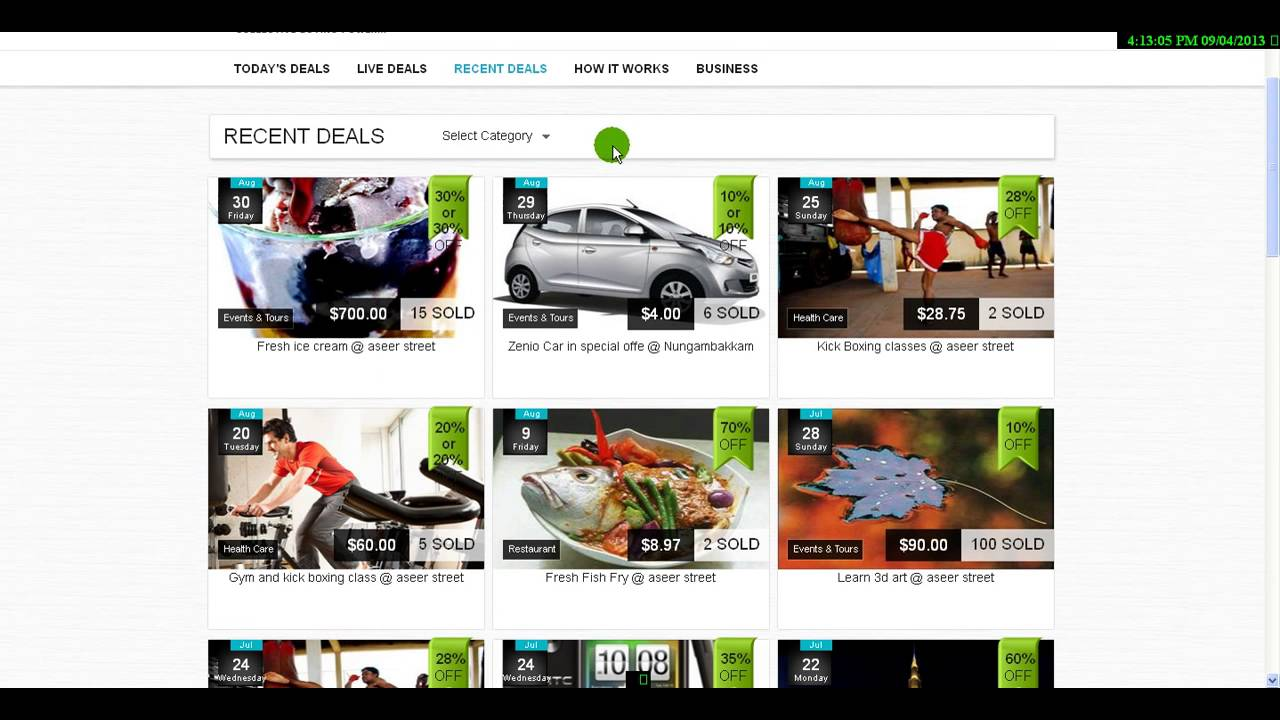 "Agriya's Impressive Groupon clone script, ""GroupDeal"""