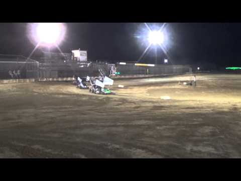 Texoma Motor Speedway 250 Outlaw feature race.4-26-2014