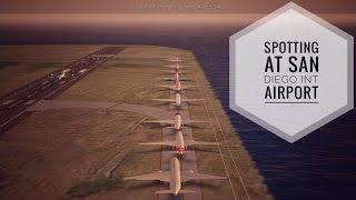 15 Minutes Plane Spotting at San Diego Int Airport - Infinite Flight