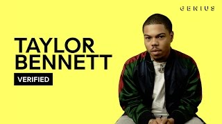 """Taylor Bennett """"Grown Up Fairy Tales"""" Official Lyrics & Meaning 