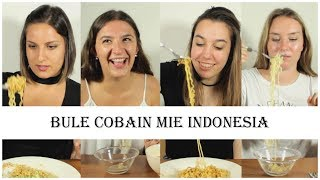 Bule cobain mie Indonesia MP3