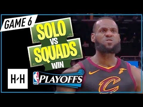 LeBron James AMAZING Full Game 6 Highlights vs Celtics 2018 Playoffs ECF - 46 Pts, 11 Reb, LeCLUTCH!