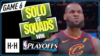 LeBron James AMAZING Full Game 6 Highli...
