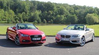 Com:paratif Audi A3 cabriolet vs BMW Série 2 cabriolet