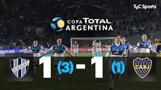 Reviví la definición por penales entre Almagro (3) y Boca (1) por la Copa Argentina