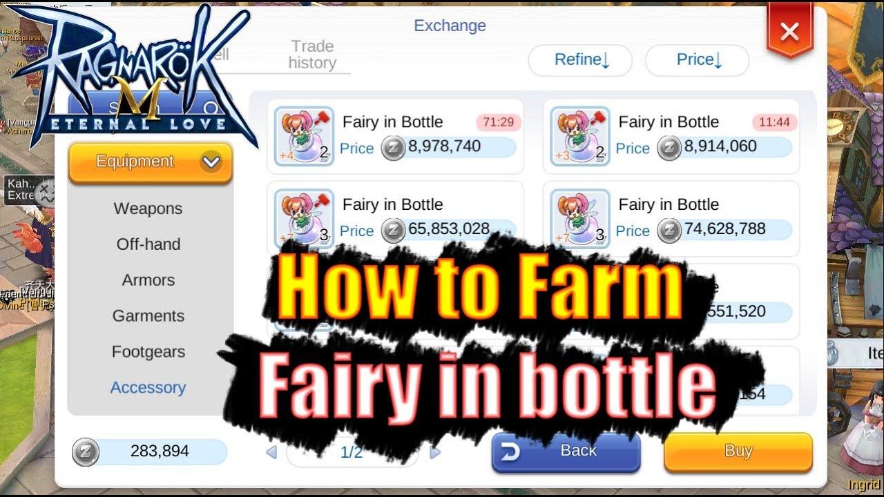 How to farm plant bottle ragnarok mobile