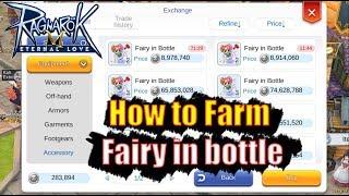 Ragnarok M Eternal Love How to Farm Fairy in Bottle