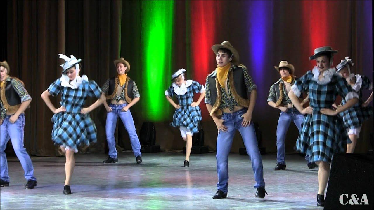ковбойский танец видео