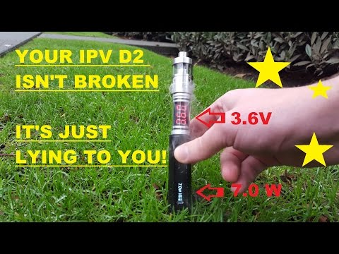 Is my IPV D2 broken? no it's lying to me! ipv d2 step down problem and fix