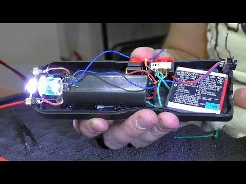 видео: Китайский электрошокер. РЕМОНТ с переделкой