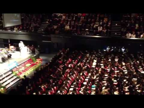 Graduation at the University of Derby  2013 - Video 4