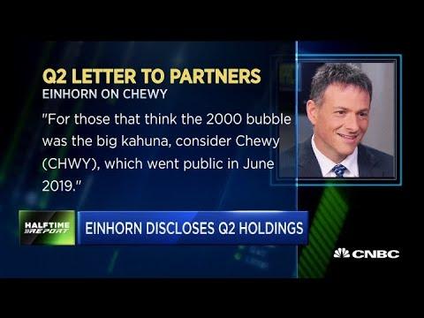 Here's A Summary Of Greenlight Capital's David Einhorn's Q2 Holdings