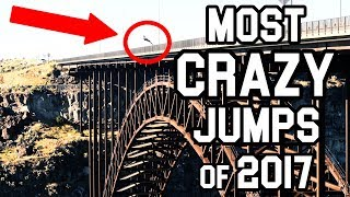 Most CRAZY Jumps of 2017 | Best of Chase Reinford pt. 1
