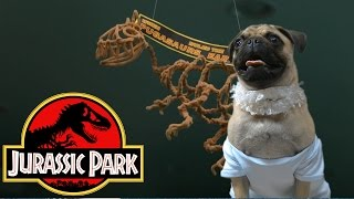 Jurassic Park (Cute Pug Puppy Edition)
