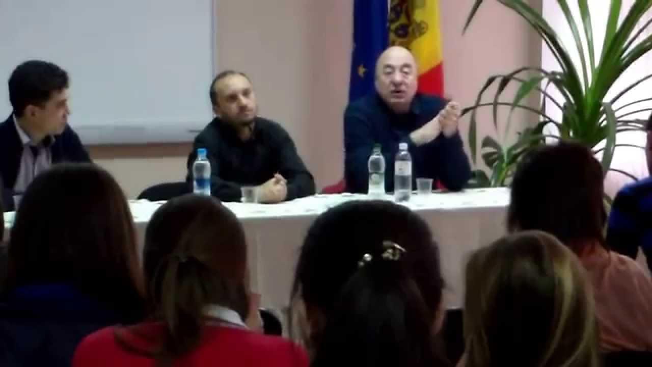 Viitori pedagogi discută cu #Cheianu și Durbală