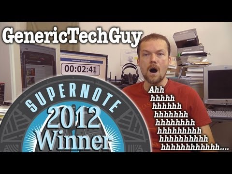 Thumbnail for SuperNote 2012 - 160+ seconds!