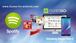 How to Free Download Music from Spotify to Samsung Galaxy Note 5 / Note Edge/Note 4 on Mac Yosemite