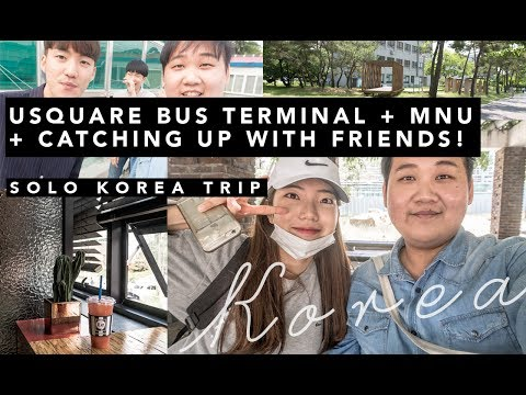 Korea Solo Trip: U-Square Bus Terminal has EVERYTHING, also catching up with friends // Part 5
