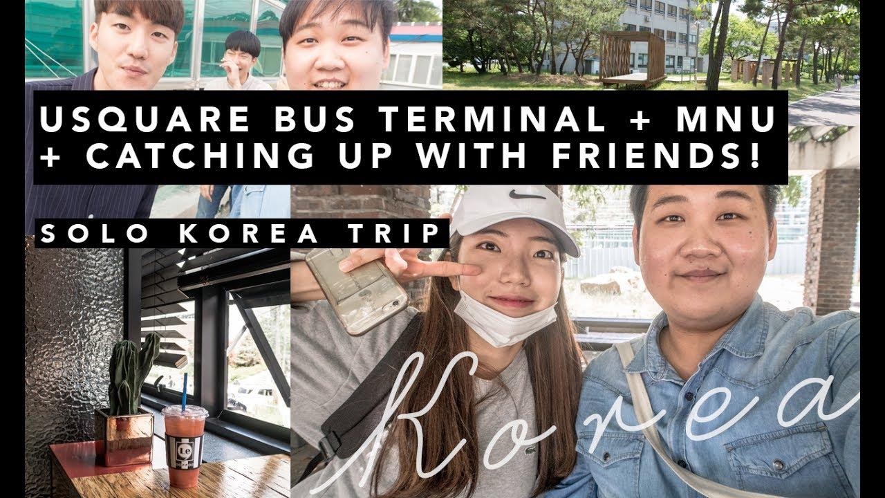 Korea Solo Trip U Square Bus Terminal Has Everything Also Catching