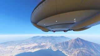 ULTIMATE ALIEN UFO MOD (GTA 5 Mods Funny Moments)