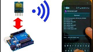 ПОДКЛЮЧАЕМ Bluetooth МОДУЛЬ REYAX RYB080I К АРДУИНО | Уроки Arduino #20