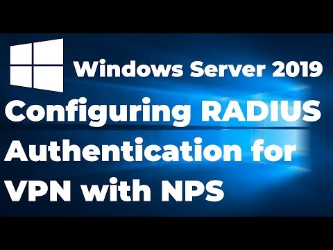 28. Configuring RADIUS Authentication For VPN With NPS