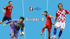 EM 2016 - Gruppe D - Analyse & Tipps - Spanien, Tschechien, Kroatien, Türkei