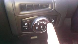 ford Focus (Форд Фокус): Как правильно настроить фары?