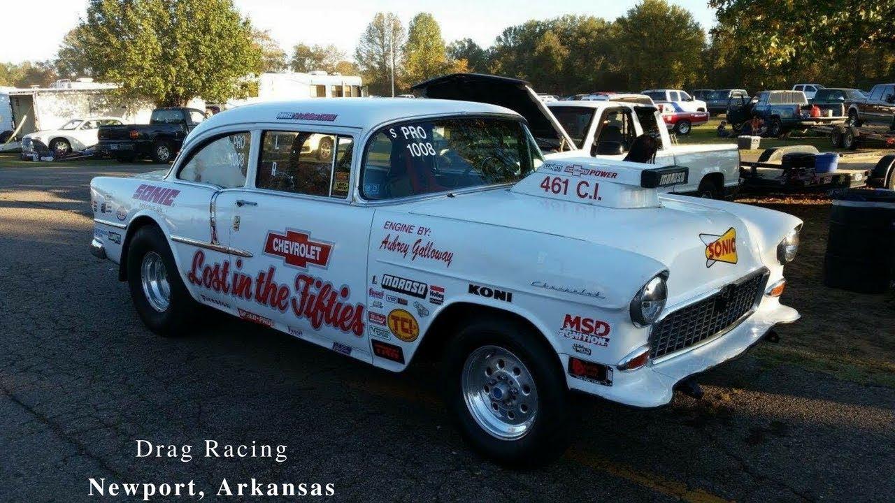 Drag Racing in Newport Arkansas on 2-28-16