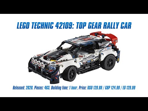 Lego Technic 42109 Top Gear Rally Car In Depth Review Speed Build Parts List 4k Youtube