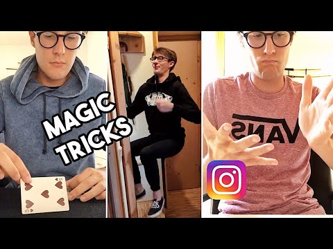 INSTAGRAM STORIES MAGIC TRICKS COMPILATION - MAGIE NELLE STORIE INSTAGRAM