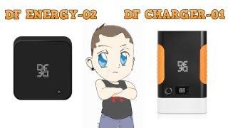 Обзор портативных аккумуляторов DF ENERGY-02 и DF-CHARGER-01